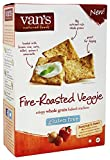 Van's Natural Foods - Gluten-Free Baked Crackers Fire-Roasted Veggie - 4 oz (pack of 2)