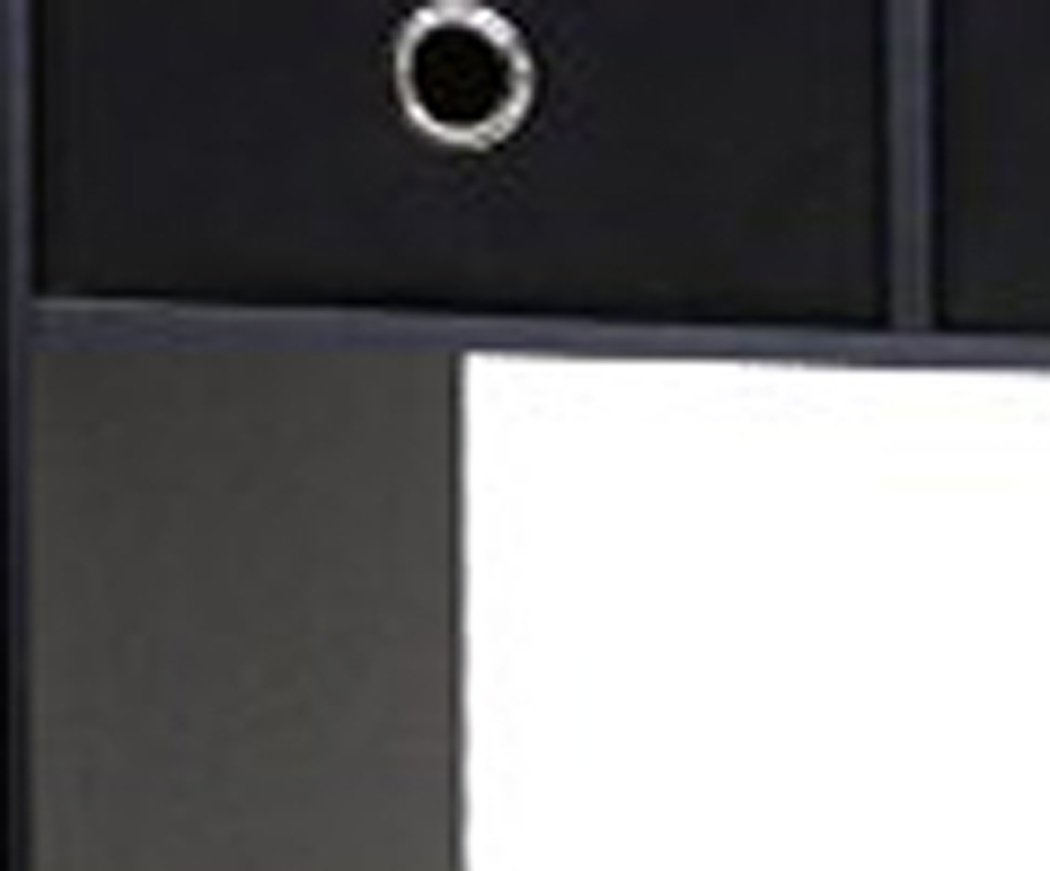 Furinno 11193BK/GY/BK Go Green Home Laptop Notebook Computer Desk/Table, Black/Grey/Black