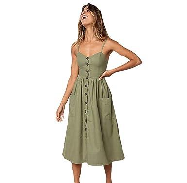 Neckholder kleid leinen