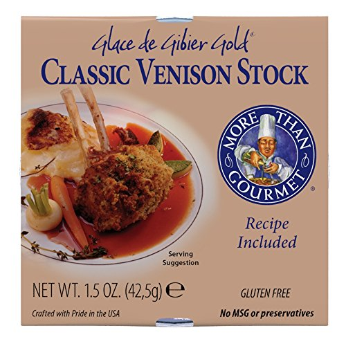 Stock Package - More Than Gourmet Glace De Gibier Gold, Venison Stock, 1.5 Ounce Package