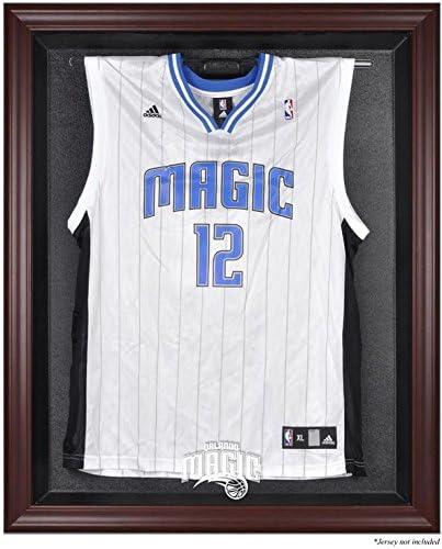 Orlando MagicマホガニーFinishedロゴジャージーDisplayケース