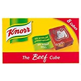 Knorr Stock Cubes Beef (8x10g) - Pack of 6