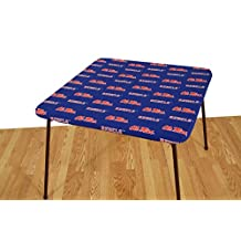 """College Covers Mississippi Rebels Card Table Cover, 33 by 33"""""""