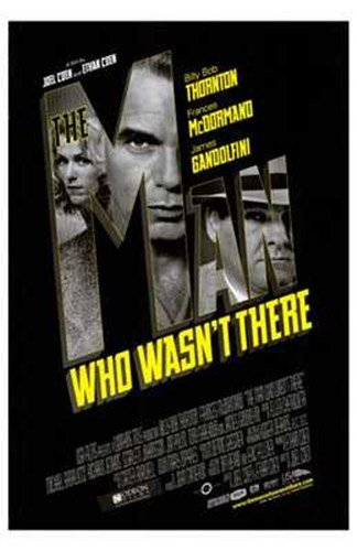 ArtFuzz The Man Who Wasn't There Movie Poster Print
