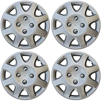 14 Honda Hubcaps >> Amazon Com 14 Set Of 4 Hubcaps Honda Civic Wheel Covers Design Are
