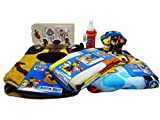 Paw Patrol Bathroom Set, Shower Curtain, Hooks, Bath Rug, Bath Towel, Pump Lotion, Toothbrush Holder