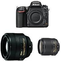 Nikon D750 + Nikkor 35mm F1.8G + Nikkor 85mm F1.8G