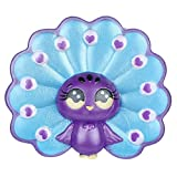 Livoty Jumbo Squishies Toy Beautiful Cartoon Peacock Slow Rising Fruit Scented Stress Relief Toys (B)