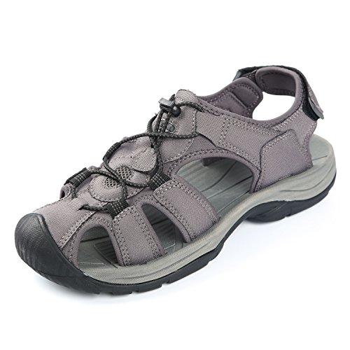 Northside Men's Trinidad Sport Sandal, Charcoal, Size 8 M US