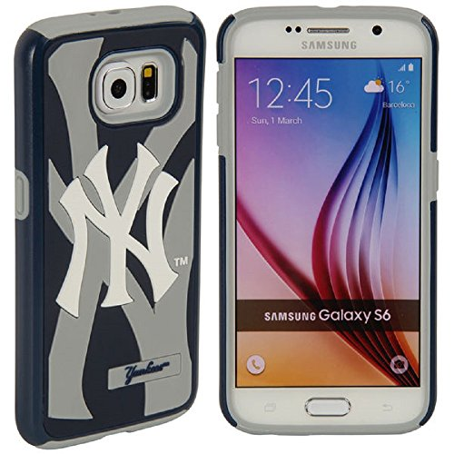 Forever Collectibles MLB Licensed Dual Hybrid Case for Samsung Galaxy S6 New (New York Case)