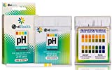 100 Ct Paradisiacal Popular pH Healthy Test Strips Quickly Monitor Balance Check Alkaline Magnet with Color Chart