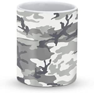 Stylizedd Mug -11oz Ceramic Mug -Artic Camo