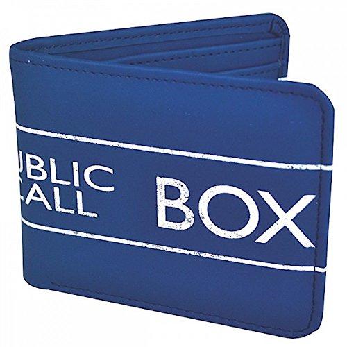 Doctor Who - Geldbeutel Box - 100 % Polyester | Blau | Geldbörse
