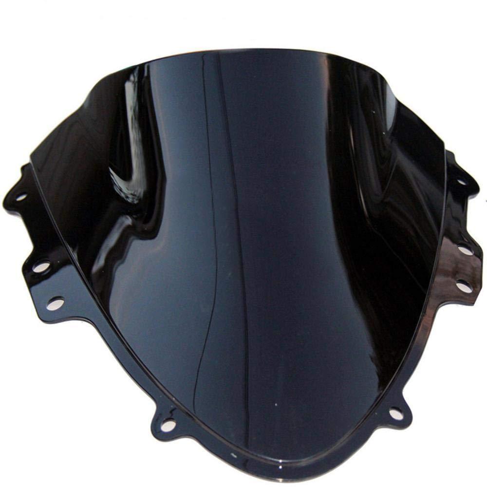 Baedivg GSXR600 GSXR750 K4 Motorcycle Windshield Double Bubble WindScreen ABS Front Glass,for Suzuki GSX-R GSXR 600//750 2004 2005