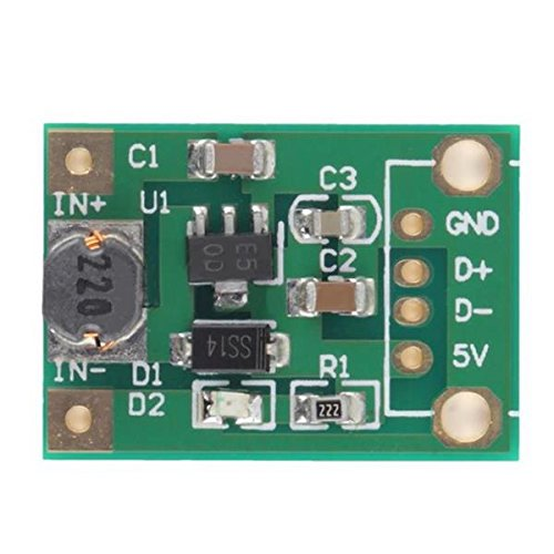 20Pcs DC-DC 1V-5V To 5V 500mA Boost Converter Step Up Power Module by BephaMart