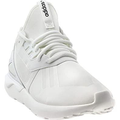 official photos a3e4e 3e560 adidas Originals Men s Tubular Runner White White Black Athletic Shoe