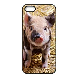 Custom So Cute Pig dibujos animados Animal Phone Case for iPhone 5 and iphone 5s