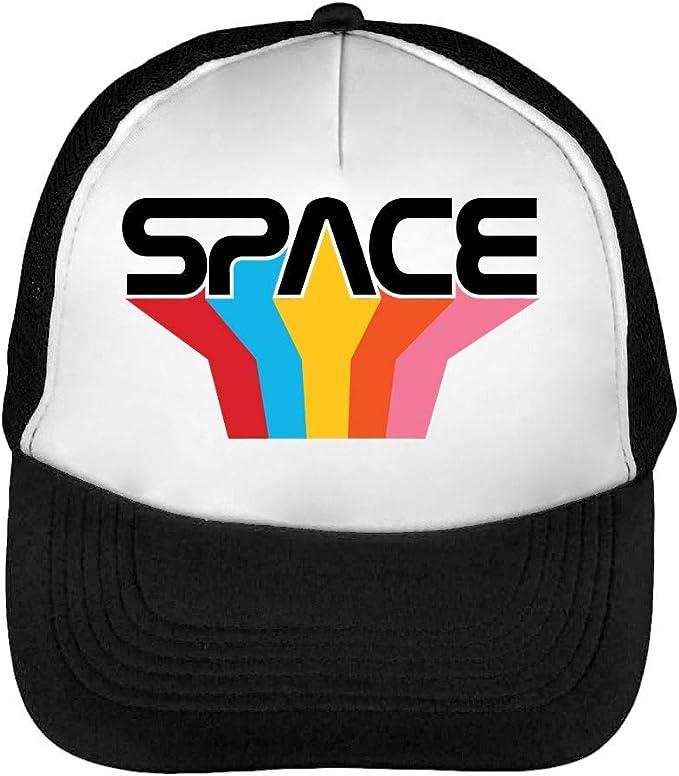 Space Atari Logo Gorras Hombre Snapback Beisbol Negro Blanco ...