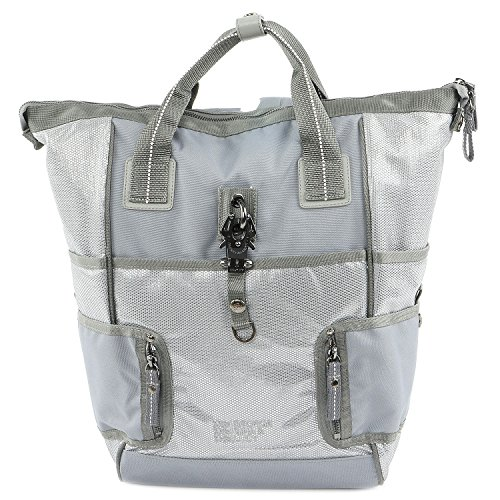 George Gina & Lucy Rucksack - Rich Nder Backpack - Silver Grey