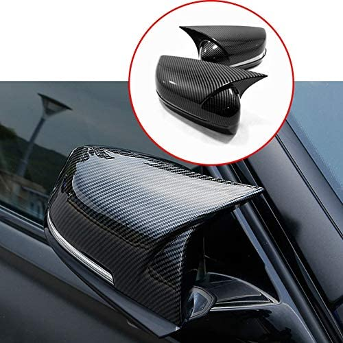 PQZATX For 3 Series G20 G28 2020 Carbon Fiber Outside Rearview Mirror Cap Cover Side Wing Mirror Covers