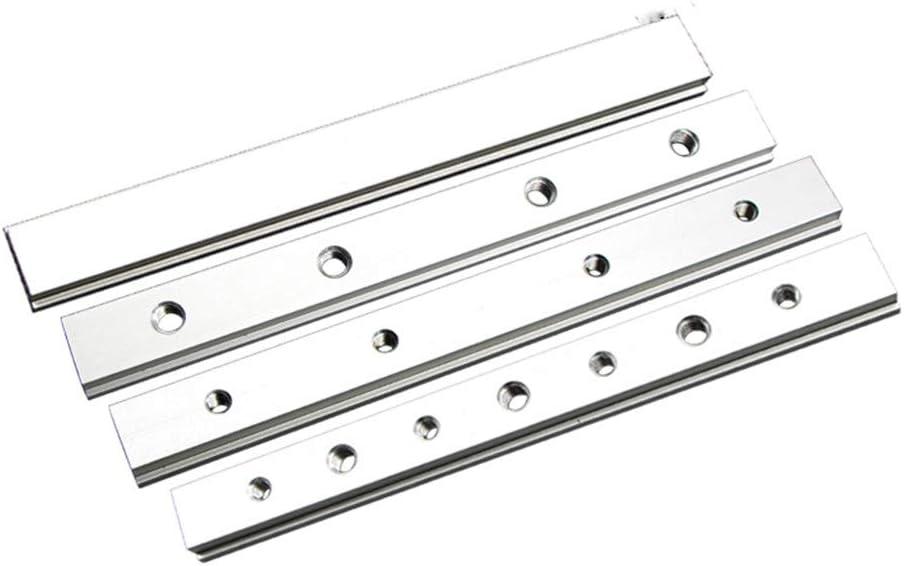 belupai 100mm T-Gleis-Schlitz-Gleitplatte passt f/ür T-Gleis-T-Gleis-Holzbearbeitungswerkzeug