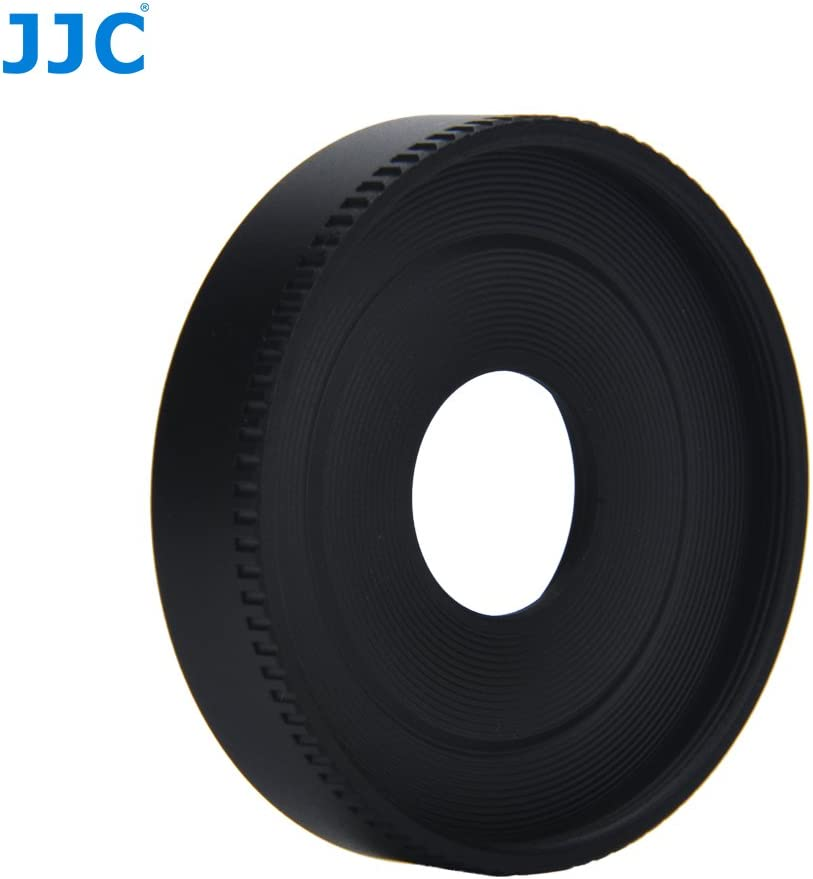 JJC LH-22 Lens Hood for Canon EF-M 28mm f//3.5 Macro IS STM Lens Replaces Canon ES-22