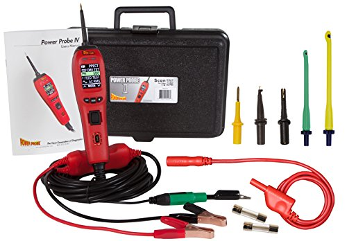 Power Probe PP401AMZ01 Red Power Probe IV with Connector Kit
