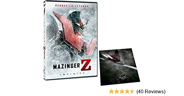 Amazon.com: Mazinger Z. Infinity (Non USA Format): Movies & TV