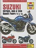 1995-2006 HAYNES SUZUKI GSF600, 650 & 1200 BANDIT FOURS SERVICE MANUAL (3367)