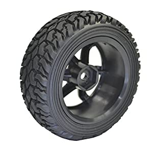 4PCS High Performance RC Rally Car Grain Rubber tires and Wheels for 1:10 RC On Road Car Traxxas Tamiya HSP HPI Kyosho