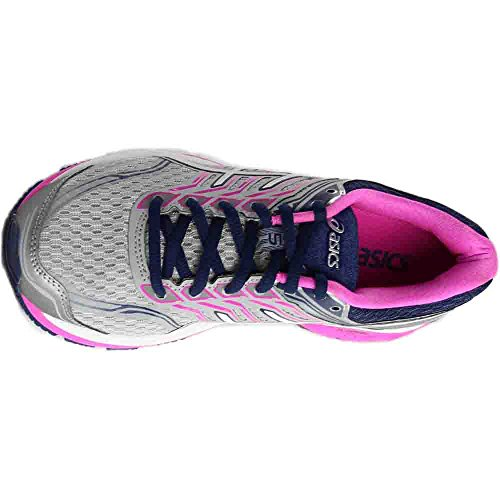 Pictures of ASICS Women's Gt-2000 5 Running Shoe T759N.9601 Pink Glow/White/Dark Purple 3