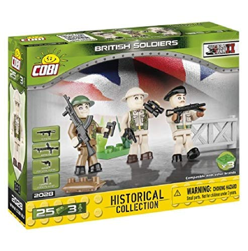 COBI Historical Collection British Soldiers Toy, Multicolor, used for sale  Delivered anywhere in USA
