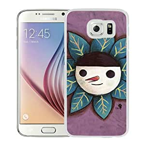 Popular Samsung Galaxy S6 Cover Case ,Cartoon Xperia Z Wallpapers 197 White Samsung Galaxy S6 Phone Case Fashion And Unique Design Cover Case