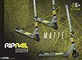 Riprail Matte Stunt Scooter Finished in Ghost
