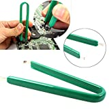 Aquiver U Type Flat IC Chip Protection Pliers ROM Circuit Board Extractor Removal Puller