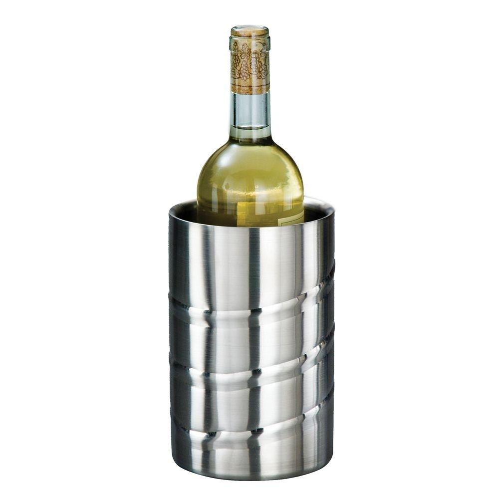 American Metalcraft SWSC S/S Single Bottle Swirl Wine Chiller