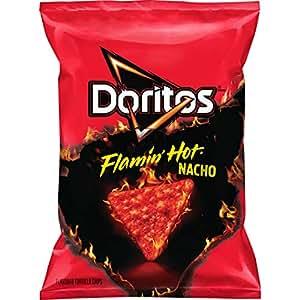 Amazon Com Doritos Flamin Hot Nacho 9 75 Ounce Prime