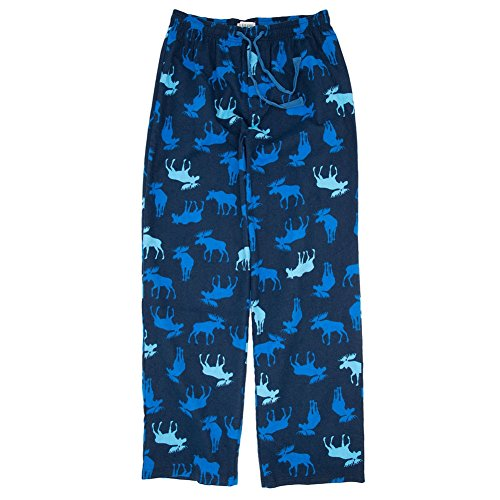 """Blue Moose"" Cotton Flannel Lounge Pants/Pajama Bottoms XXL"