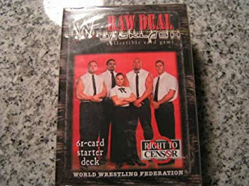 RTC Right to Censor IVORY Steven Richards WWE Raw Deal Starter Deck Backlash