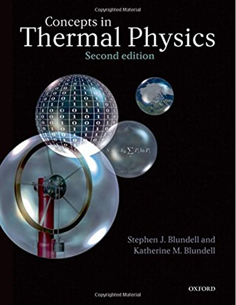 Concepts In Thermal Physics Blundell Stephen J Blundell Katherine M 8580000624052 Amazon Com Books