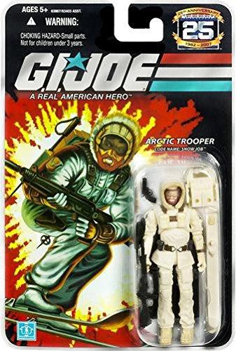 G.I. Joe 25th Anniversary: Snow Job (Arctic Trooper) 3-3/4 Inch Action Figure -