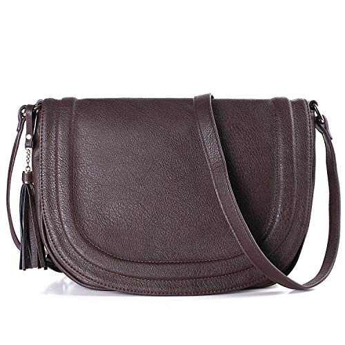 Crossbody Bags for Women, Shoulder Handbags for Women 12.2 x 9.84 x 3.15 Inch Waterproof Multi Pocket Tote Purse Handbag, Great Buy for Yourself or As a Gift for Important - Handbag Flap Medium