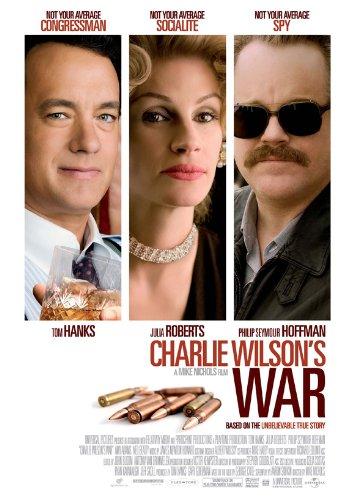 Charlie Wilson's War Poster Movie Swedish B 11x17 Tom Hanks Julia Roberts Philip Seymour Hoffman