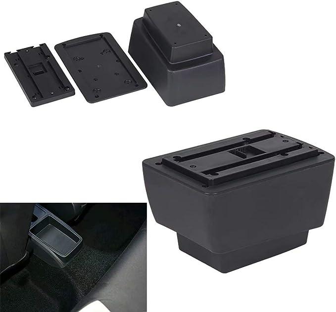 Für Fabia 3 2015 2017 Armlehne Mittelkonsole Aufbewahrungsbox Mit Aschenbecher Und Getränkehalter Auto