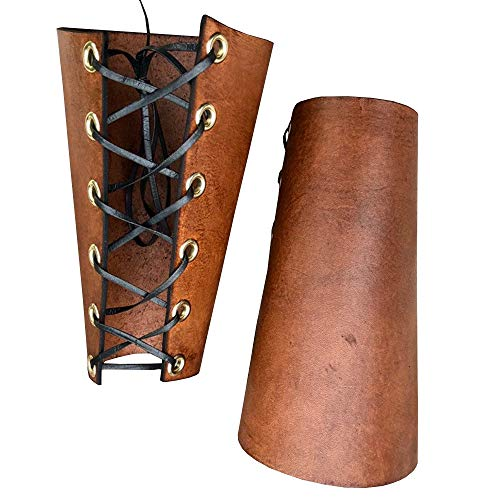 Lace Up Gauntlet Wristband Bracer Arm Armor Cuff