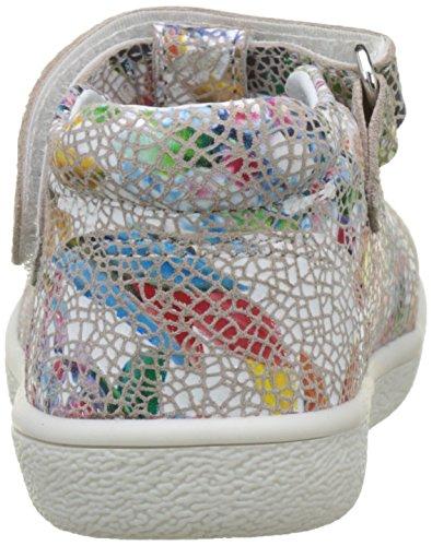 babybotte Mädchen Skoty Hohe Sneaker Rouge (fleur Mosaique)