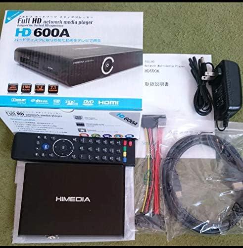 TEC GigabitLAN対応 ネットワークメディアプレイヤー HD600A