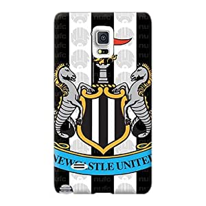 Samsung Galaxy Note 4 Oed17813TnlV Custom HD The Famous Team England Newcastle United Skin Bumper Cell-phone Hard Cover -IanJoeyPatricia