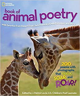 National Geographic Kids Book Of Animal Poetry: 200 Poems With Photographs  That Squeak, Soar, And Roar! (Stories U0026 Poems): Amazon.co.uk: J. Patrick  Lewis, ...