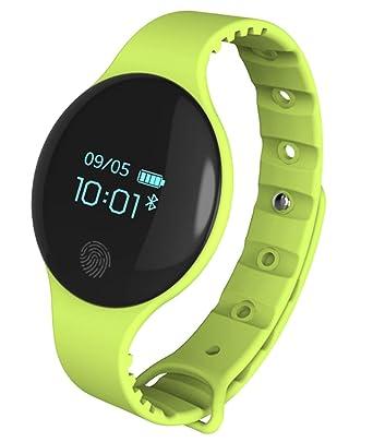 Pulsera Inteligente con Bluetooth, podómetro, Monitor de Actividad ...